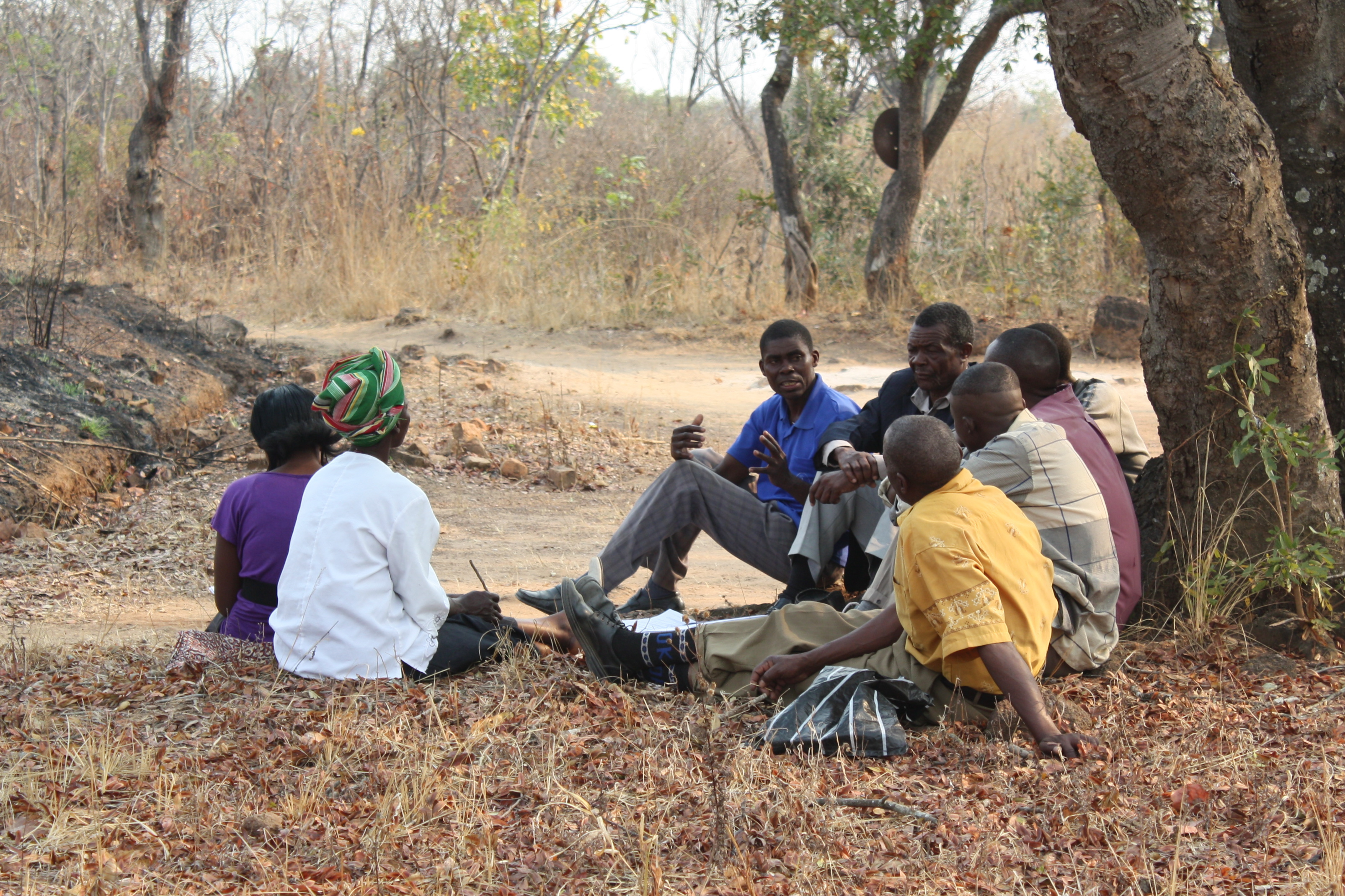 Small group dignity zambia