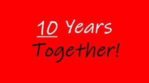10 Years Together